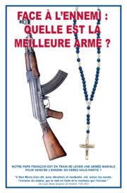 Face à l'Ennemi, quelle est la meilleure arme ?